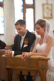 Parishioners wishing to celebrate the Sacrament of Marriage should call the Rectory six months to a year in advance.